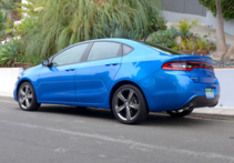 2015 Dodge Dart GT side view