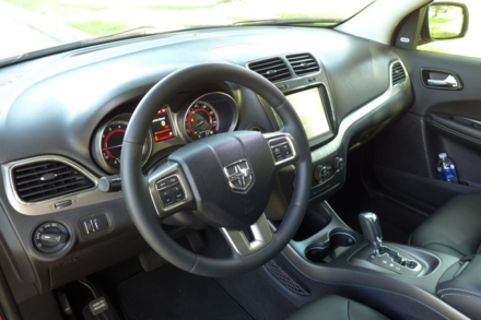 2015 Dodge Journey interior