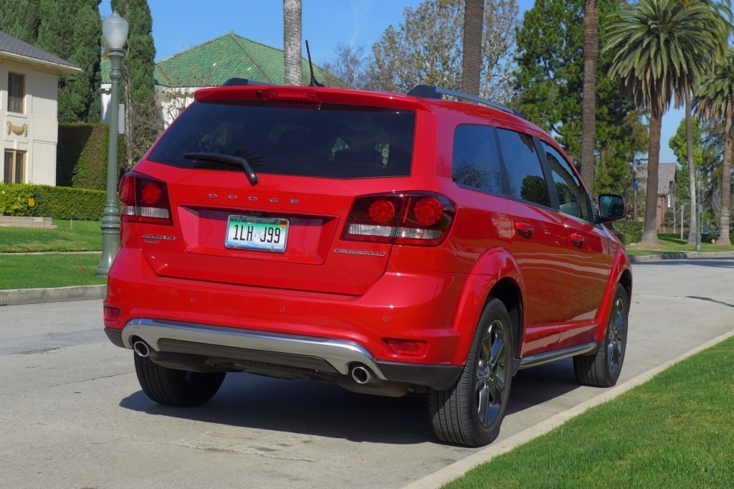 2015 Dodge Journey rear view