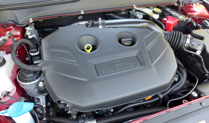 2013 Ford Fusion Titanium AWD engine