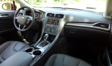 2013 Ford Fusion Titanium AWD interior view