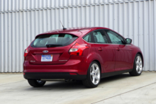 2014 Ford Focus back view