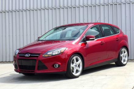 2014 Ford Focus front view