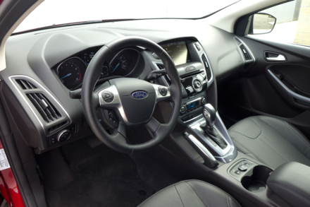 2014 Ford Focus interior
