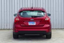 2014 Ford Focus rear view
