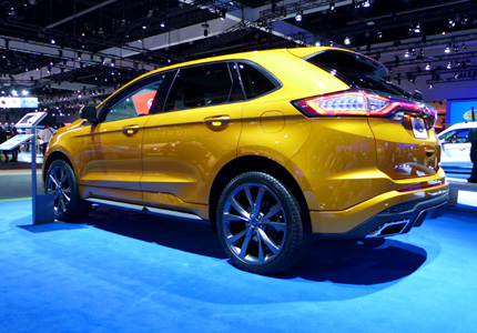 2015 Ford Edge Sport AWD side view