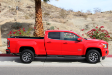 2015 GMC Canyon side view