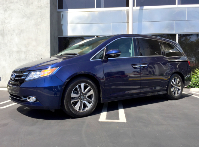 2015 Honda Odyssey 5 Door Touring Elite
