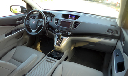 2014 Honda CR-V EX-L AWD interior