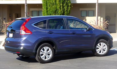 2014 Honda CR-V EX-L AWD rear view