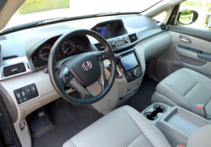 2015 Honda Odyssey 5-Door Touring Elite interior