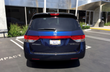 2015 Honda Odyssey 5-Door Touring Elite rear view