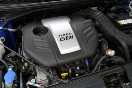 2013 Hyundai Veloster Turbo A/T engine