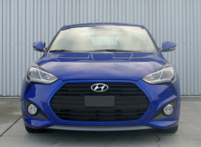 2013 Hyundai Veloster Turbo A/T front view