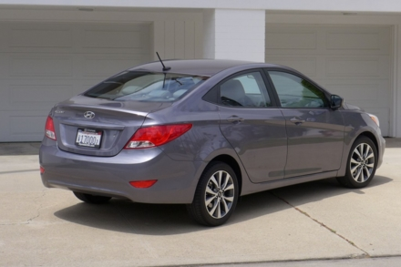 2015 Hyundai Accent back view
