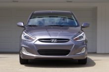 2015 Hyundai Accent front view