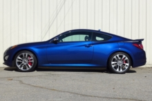 2015 Hyundai Genesis Coupe side view