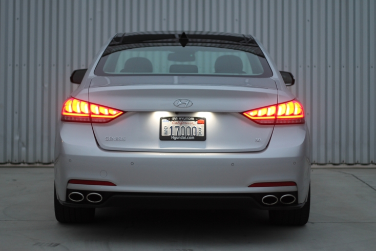 2015 Hyundai Genesis RWD 5.0 Sedan rear view