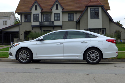 2015 Hyundai Sonata side view