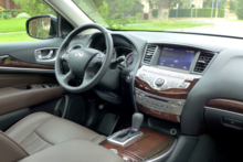 2014 Infiniti QX60 3.5 AWD interior view