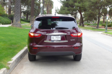 2014 Infiniti QX60 3.5 AWD rear view