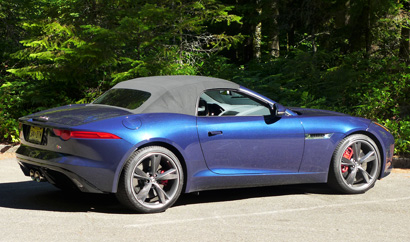 2014 Jaguar F-TYPE S side view