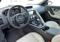 2016 Jaguar F-TYPE S Coupe Manual interior view
