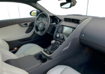 2016 Jaguar F-TYPE S Coupe Manual interior