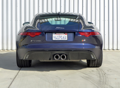 2016 Jaguar F-TYPE S Coupe Manual rear view