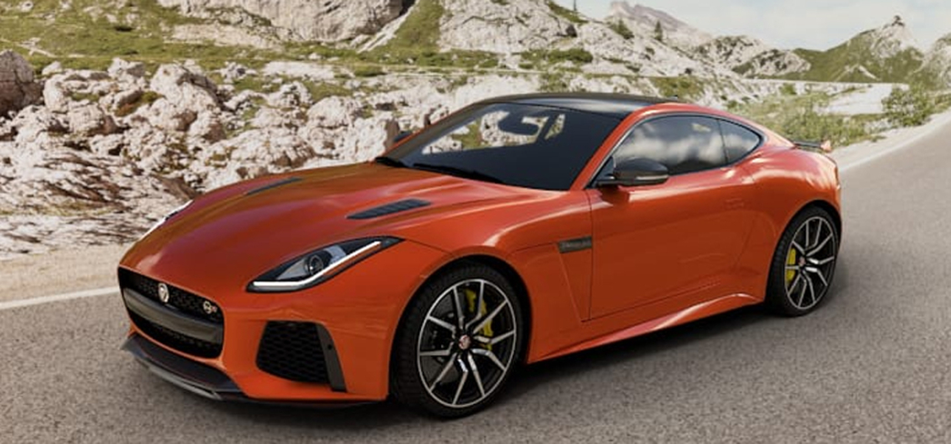 The 2017 Jaguar F-TYPE juxtaposes classic sports car aesthetics with modern performance