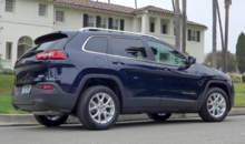 2014 Jeep Cherokee Latitude rear view
