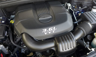 2014 Jeep Grand Cherokee Overland 4x4 engine