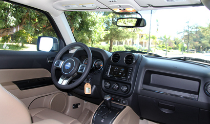 2014 Jeep Patriot Limited 4x4 interior