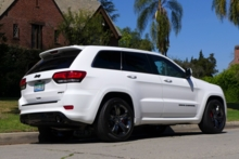 2015 Jeep Grand Cherokee SRT back view