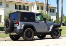 2015 Jeep Wrangler Willys Wheeler back view