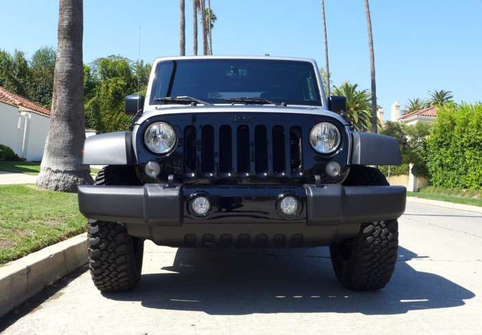 2015 Jeep Wrangler Willys Wheeler front view