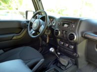 2015 Jeep Wrangler Willys Wheeler interior