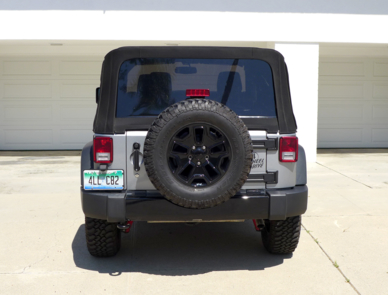 2015 Jeep Wrangler Willys Wheeler rear view