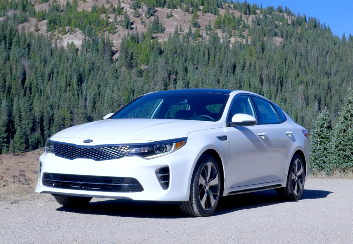 2016 Kia Optima 2.0T SX