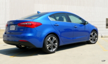 2014 Kia Forte EX back view