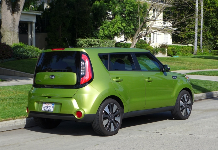2014 Kia Soul rear view