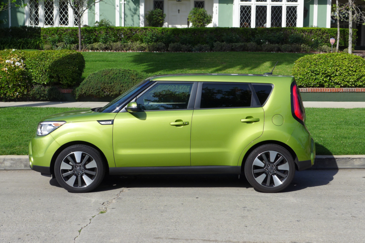 2014 Kia Soul side view