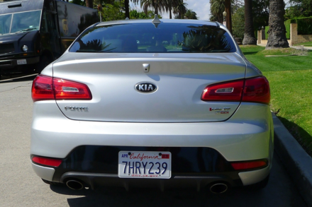 2015 Kia Forte Koup rear view