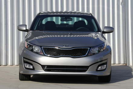 2015 Kia Optima SX front view