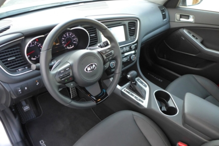 2015 Kia Optima SX interior view
