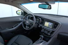 2015 Kia Optima SX interior