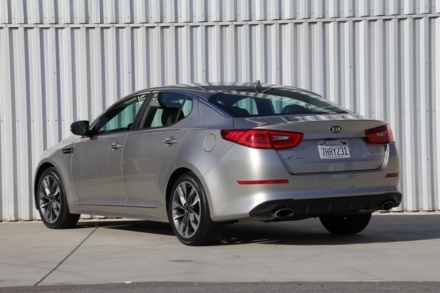 2015 Kia Optima SX rear view