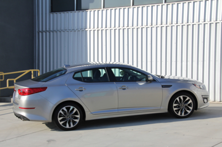 2015 Kia Optima SX side view