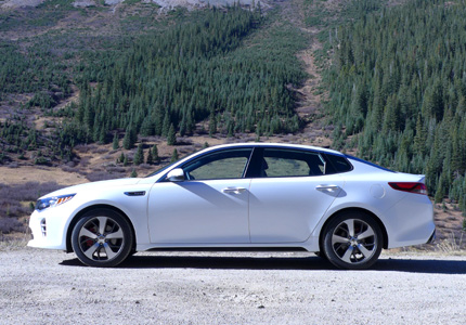 2016 Kia Optima 2.0T SX side view