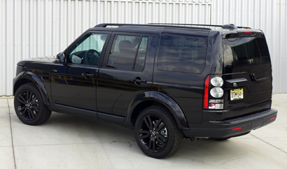 2014 Land Rover LR4 back view